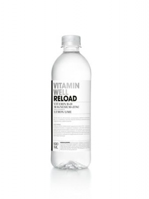 "Vitaminital, szénsavmentes, 0,5 l, VITAMIN WELL, ""Reload"", citrom-lime"